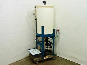 Ryan Herco Flow Solutions Conical Drum W stand And Magnetic Pump 55 Gallon