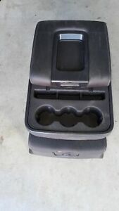 2014 2018 Chevy Silverado Gmc Sierra Jump Seat Center Console Black Cloth