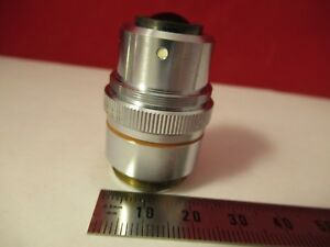 Zygo Objective Interferometer Nice Microscope Optics As Pictured