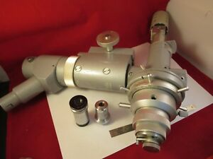 Leitz Wetzlar Germany Precision Interferometer Microscope Part Optics