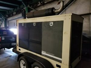 Used 180 Kw 480 Volt 3 Phase portable Generator only 90 Actual Hours