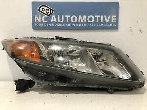 2009 2010 2011 Honda Civic Sedan Headlight Passenger Right Rh Halogen Oem D8