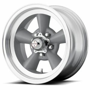 1 New 17x8 0 American Racing Tt O Vintage Silver 5x114 3 Wheel Rim