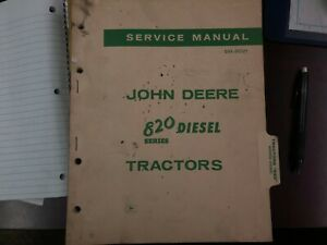original John Deere 820 Series Diesel Service Manual Sm 2021