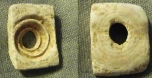 Israel Chalcolithic Ancient Shell Bead 4th Millennium Bc Original Cut From Shell