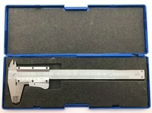 Aerospace Vernier Caliper W Case Stainless Steel Hardened