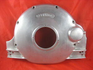Glenwood Ford 352 To 428 Aluminum Flywheel Cover Rear Motor Mount V Drive Boat