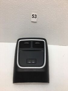 2015 2018 Dodge Charger Oem Center Console Rear Trim Panel Vents Usb Oem