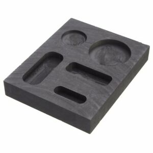 Graphite Casting Ingot  Melting Mold Refining Scrap For Copper Silver Gold Tools