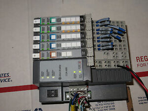 Allen Bradley Point Io Lot 1734 adn b it2i c 2xib4 2xob4 c Very Nicetested 1
