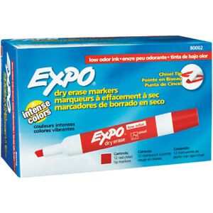 School Supplies Expo Dry Erase Markers Made In Usa Case Of 12