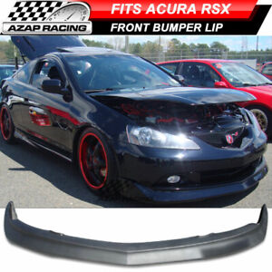 2005 2006 Mugen Style Front Bumper Lip Poly Urethane Spoiler Fits Acura Rsx