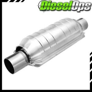 Magnaflow 94609 Universal High flow Catalytic Converter Round 3 In out