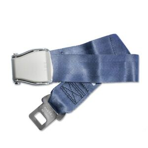 Airplane Seat Belt Extender Type A Universal Extension Faa Compliant Gray
