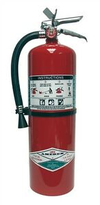 11lb Halotron Amerex Fire Extinguisher 397 Free Shipping Brand New