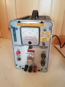 Power Designs 1515a Transistorized Power Supply Powers On