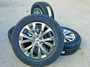 20 Fits Ford F150 Chrome Wheels Gdy Tires Rims King Ranch Truck Pvd Factory Oem