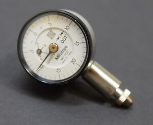 Mitutoyo 1921 Dial Indicator 4 48 Unf Thread 3 8 Stem Diameter Lug