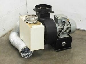 Ciro 0 5 Hp Motor With Squirrel Cage Blower Fan Attachment 220 460v 3 phase Qs F