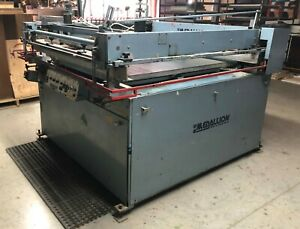 M r 36x48 In Screen Printing Press plus A Second Press For Parts Takeoffs