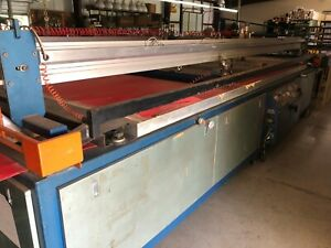 M r Patriot Longstroke Screen Printing Press