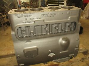 Ih Farmall Super M 400 C264 Engine Block Washed And Checked Antique Tractor