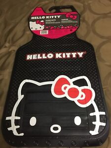Hello Kitty Car Floor Mats Rubber Set 2ea Liners For All Automobiles