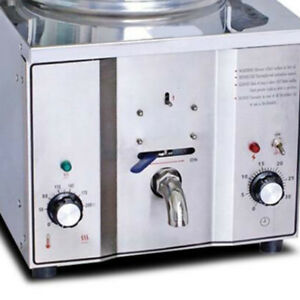 Commercial Electric Countertop Pressure Fryer Fish Chickens Cooker 16l 2400w Fda