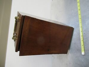 Antique Empty Wood Box Case Beck London Uk Microscope Part As Pictured tb 5 1
