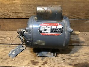Dayton 1 2hp Electric Motor 115v 208v 230v 3450rpm 5k285h Single Phase