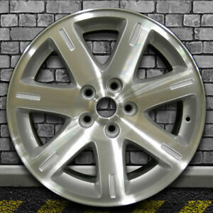 Machined Sparkle Silver Oem Factory Wheel For 2005 2008 Chrysler 300 17x7
