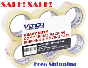 Industrial Heavy Duty Clear Packing Tape 2 7 Mil For Moving Packaging Best Tape