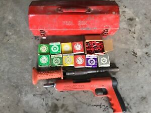 Omark 721 22 Caliber Powder Ramset Power Actuated Tool Tons Of Loads