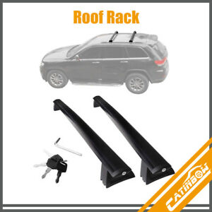 Top Roof Rack Cross Bar Cargo Luggage Carrier For 2011 2018 Jeep Grand Cherokee