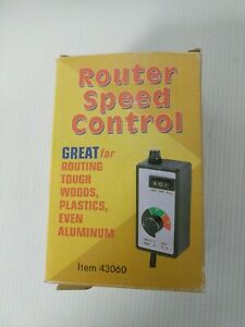 Router Speed Control 43060 120v 15 A
