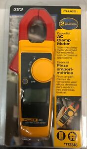 Fluke Digital 600 volt Clamp Fluke 323 lw