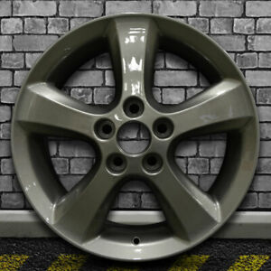 Full Face Medium Metallic Charcoal Oem Wheel For 2005 2009 Toyota Camry 17x7