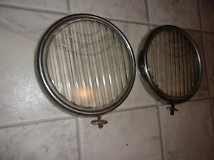 1930 1931 Ford Model A Original Style Matching Pair Of Headlight Lenses