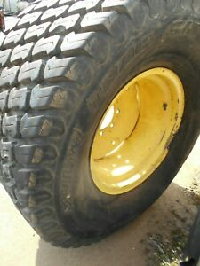 44x18 00 20 4 Ply Turf Tire On Bent John Deere Wheel