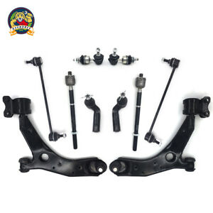 For Mazda 3 5 Non Turbo New 10pc Front Lower Control Arm Set Suspension Kit
