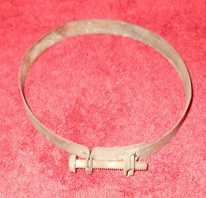 1966 1967 Ford Mustang Gt Shelby Cougar Orig Wittek Thermactor Air Cleaner Clamp