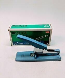 Max Hd 3d Heavy Duty Stapler 75 Sheet Bookbinding Industrial Blue