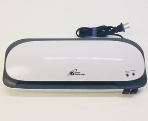 Rs Royal Sovereign 9 inch Laminator Machine cs 923 White 3 Or 5 Mil