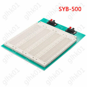 Syb 500 4 In 1 700 Position Tie Point Pcb Board Solderless Breadboard For Test