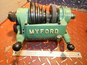 2nd Myford Super 7 Mark 2 Lathe Complete Headstock Replacement Engineering