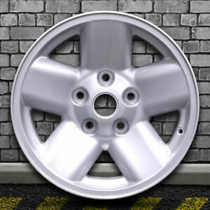 Sparkle Silver Full Face Factory Wheel For 2002 2003 Dodge Ram 1500 17x8