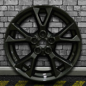 Black Base W titanium Gray Ff Factory Wheel For 2012 2015 Nissan Maxima 18x8