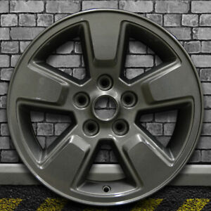 Dark Sparkle Charcoal Full Face Oem Wheel For 2008 2012 Jeep Liberty 16x7