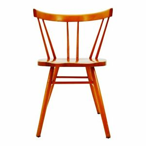 Vintage Knoll Spindle Chair