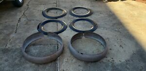 1929 1930 Packard Side Mount Wheel Covers Spare Tire 1931 1932 1933